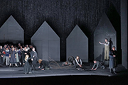 Klaus Grünberg set design, lighting, video: Der Freischuetz (Carl-Maria von Weber), Aalto Theater, Essen, 2018
