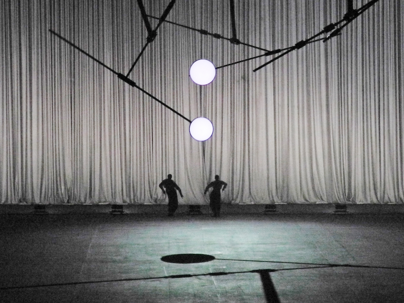 De Materie (Louis Andriessen), Set and lighting design: Klaus Grünberg, Ruhrtriennale, 2014